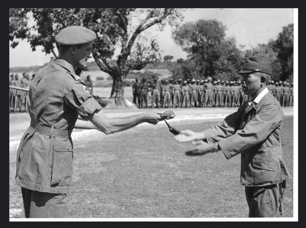 Japan's 33rd Army only surrendered to the 17 Indian Division at Thaton, north of Moulmein, in late October