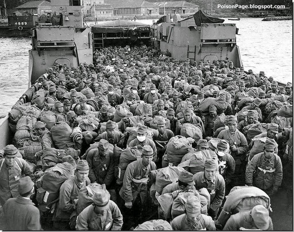 soldiers prepare to become hikiagesha