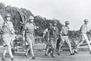 Syonan had its origins in the lightning Japanese invasion and conquest of Malaya in 1942, with British forces capitulating on Singapore on 15 February.