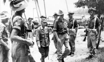 makes his way to the surrender ceremony in Labuan, Borneo [World War II Database, Peter Chen](http://ww2db.com)