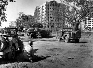 Urban warfare in Manila