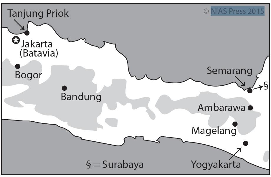 Image Result For Central Java Map Semaranga