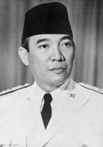 Official portrait of Sukarno, 1949