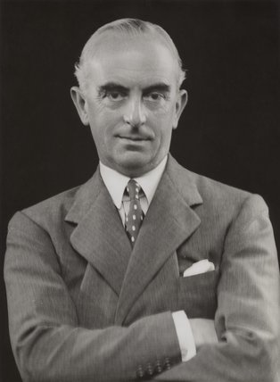 shown here during his tenure as High Commissiioner for Palestine in 1935. He was subsequently named special representative to Malaya.