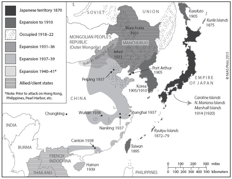 Japanese expansion through 1941