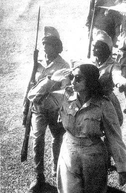 lakshmibai of rani jhansi regiment